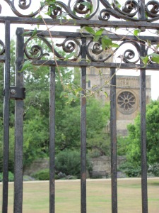 Christ Church College gate